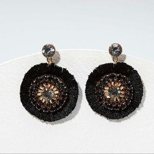 🎄3/$30 NWT Loft Crystal Fringe Earrings